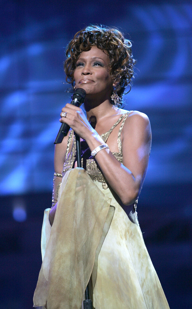 Whitney performed at the 2004 World Music Awards.