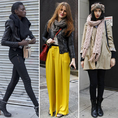 Winter Hats and Snoods For Fashion Week 2012