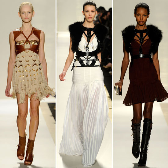 Review of Herve Leger By Max Azria 2012 Fall New York Fashion Week Catwalk Show