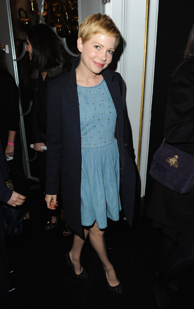 Michelle Williams at Mulberry