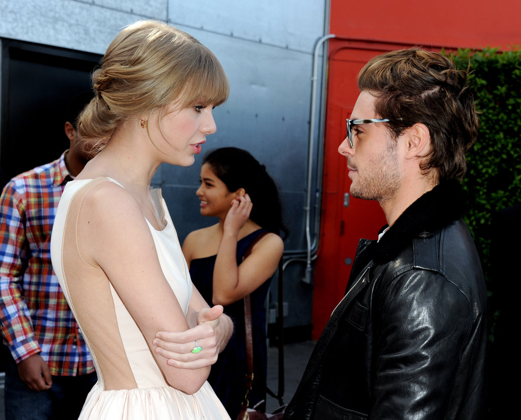 Taylor Swift and Zac Efron