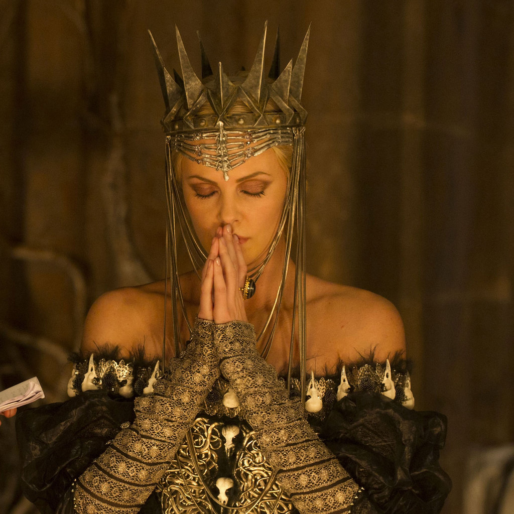 Charlize Theron Snow White Makeup Snow White and the Huntsman