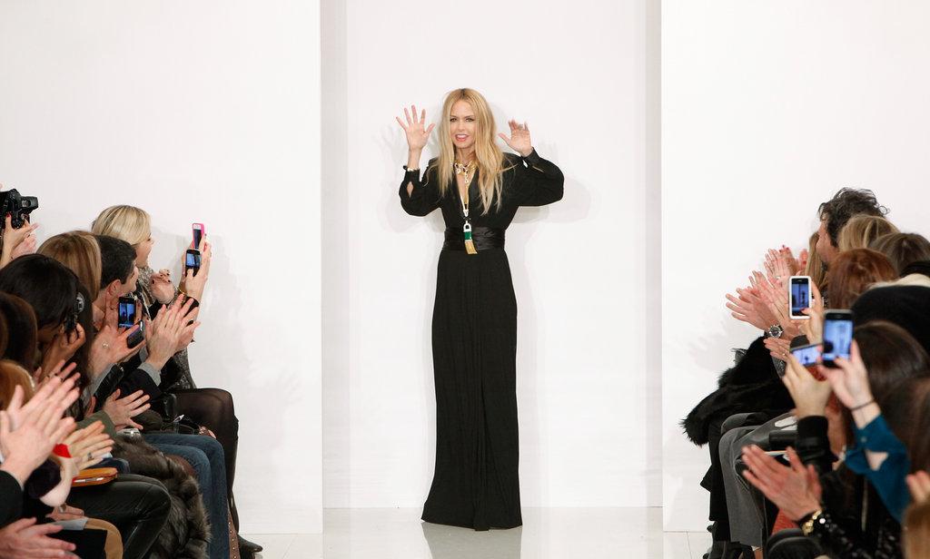 Rachel Zoe waved after her presentation.