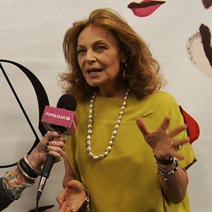 Diane von Furstenberg Interview Fall 2012 NYFW