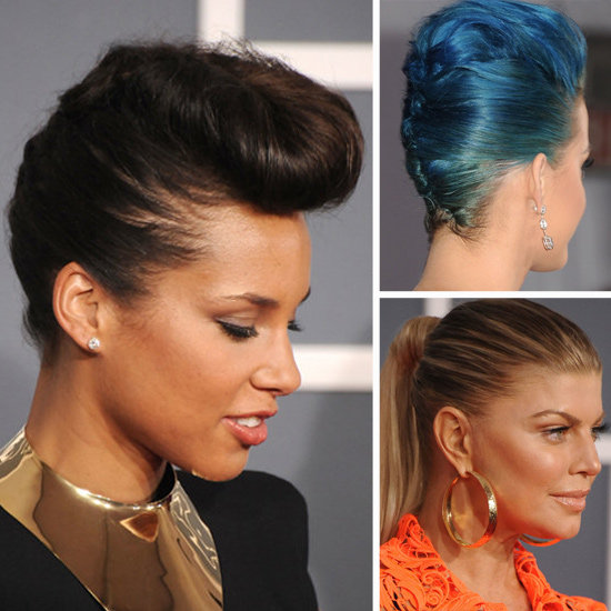 2012 Grammys: Scope the Hottest Hairstyles From All Angles