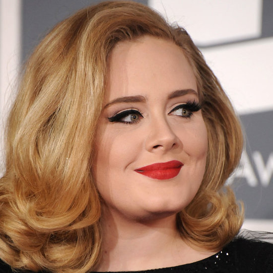 Adele's Hair and Makeup at the 2012 Grammy Awards
