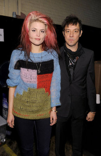 Alison Mosshart and Jamie Hince of The Kills hit NYFW.