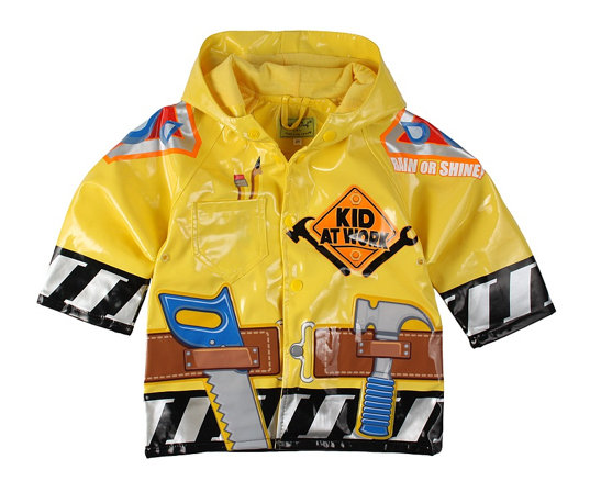 Western Chief Kid At Work Raincoat ($20)
