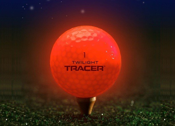 "Twilight Tracer ""Blinking"" Golf Ball 3-Pack ($29)"