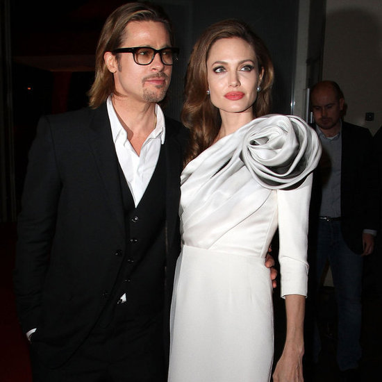 Angelina Jolie and Brad Pitt Pictures at In the Land of Blood and Honey Paris Premiere