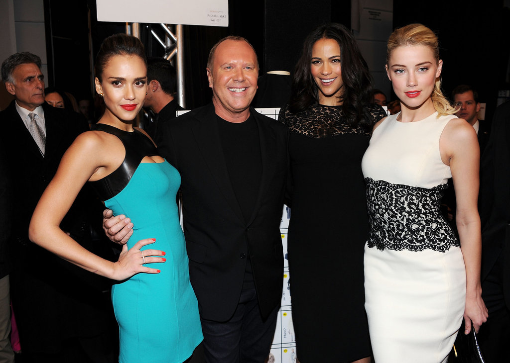 Jessica Alba, Michael Kors, Paula Patton and Amber Heard