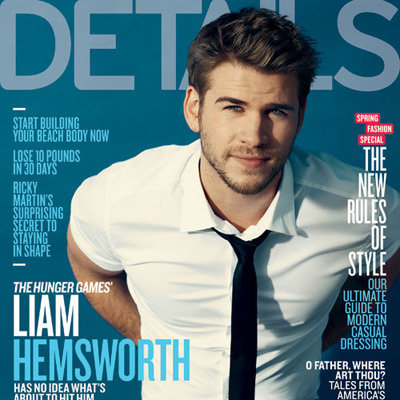 Liam Hemsworth Details Magazine Pictures and Quotes on The Hunger Games and Miley Cyrus