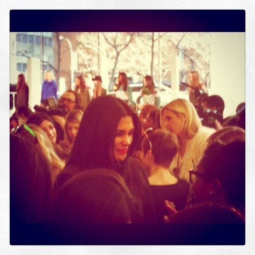The always-gorgeous Rachel Roy during her Fall '12 presentation earlier this year.