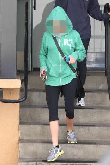 Guess Which Celeb Is Leaving the Gym?