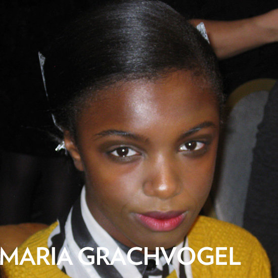 Maria Grachvogel 2012 Beauty: Hair, Makeup, and Nails