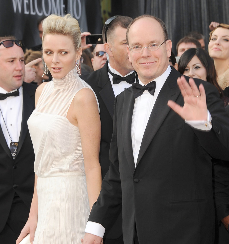 The Prince and Princess of Monaco in LA for the Oscars.