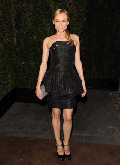 Diane Kruger wore a dress from Chanel's 2011 haute couture.
