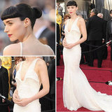 Girl With The Dragon Tattoo Star Rooney Mara Wears White Givenchy Haute Couture to the 2012 Oscars: Love it?