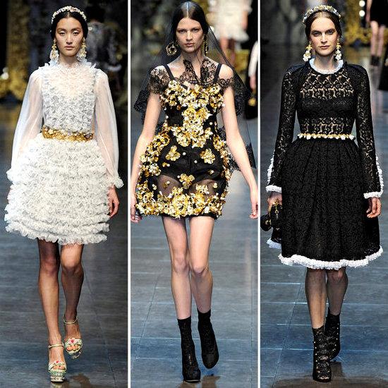 Dolce & Gabbana Runway Fall 2012