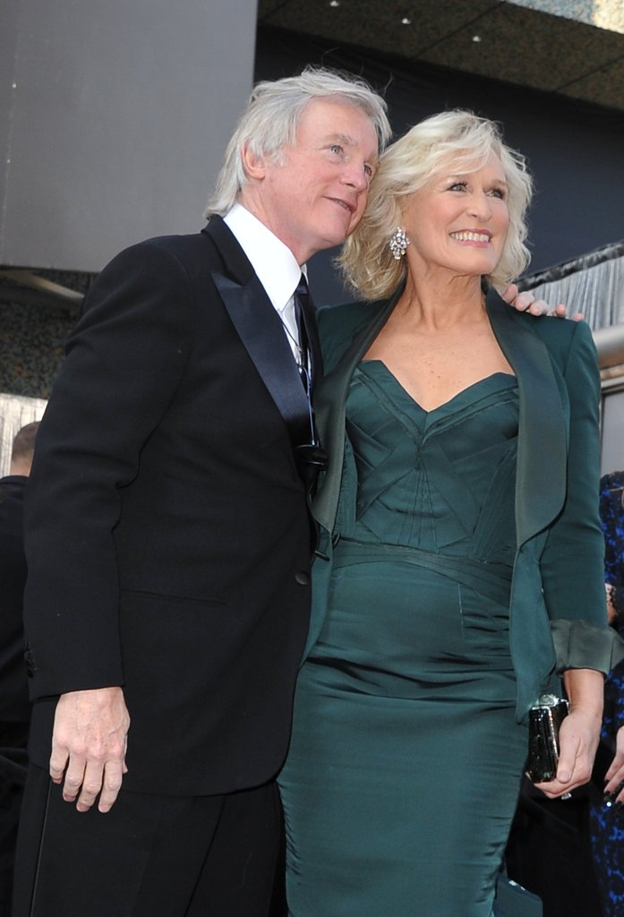 Glenn Close and David Shaw