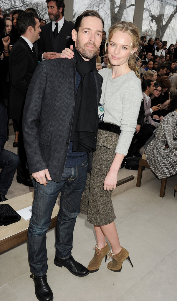 Kate Bosworth looking fashionable at New York Fashion Week.
