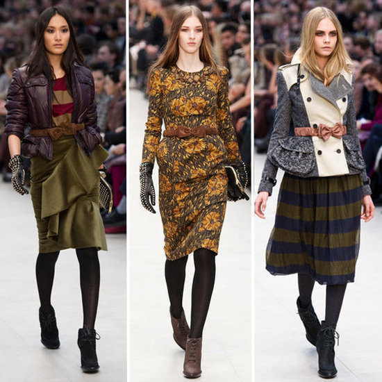 Review and Pictures of Burberry Prorsum London Fashion Week Runway Show