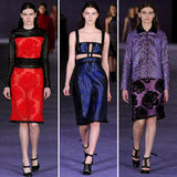 Review and Pictures of Christopher Kane London Fashion Week Runway Show