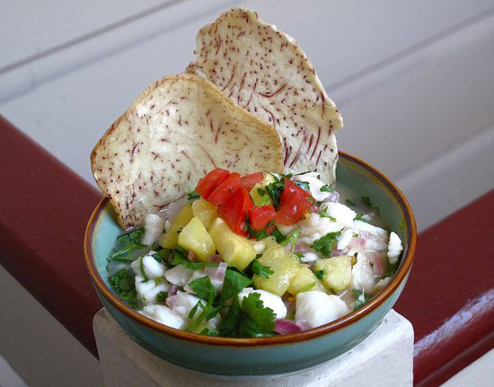 Pineapple-Halibut Ceviche Will Help You Cool Off