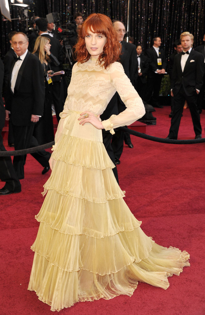 Florence Welch at the 2011 Academy Awards