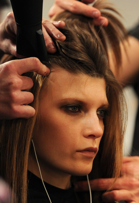 """It's not in-your-face sexy, but more of a subtle and slightly groomed look,"" lead stylist Neil Moodie said of the hairstyle."