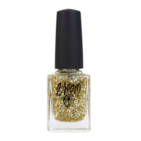 Bloom Gold Sparkle Top Coat, $18.95