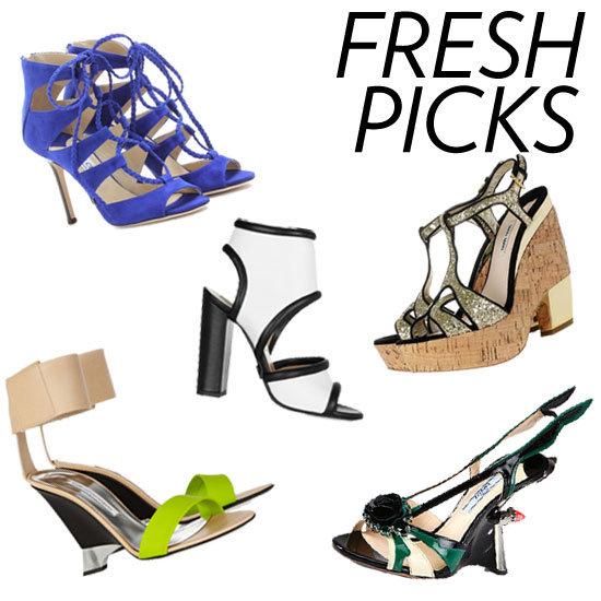 Spring 2012 Designer Shoes