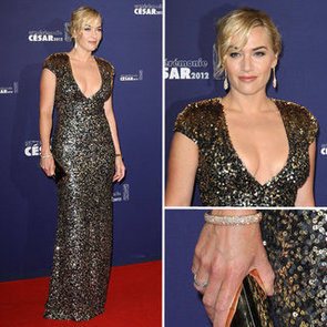 Kate Winslet in Jenny Packham at Cesar Awards