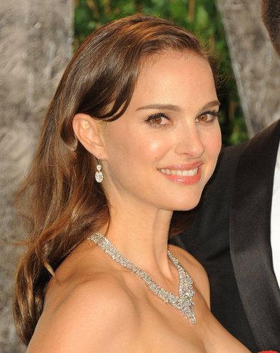 Natalie Portman in Harry Winston diamonds.