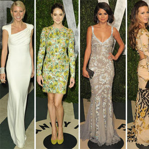 Vanity Fair Oscars Party Red Carpet Pictures 2012