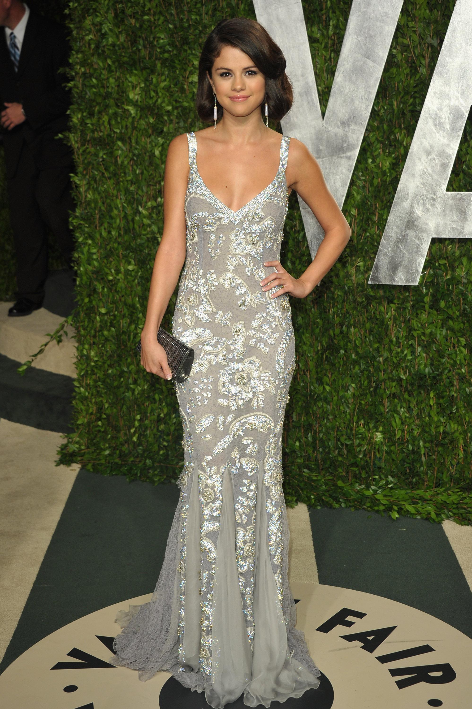Selena Gomez in Dolce and Gabbana.