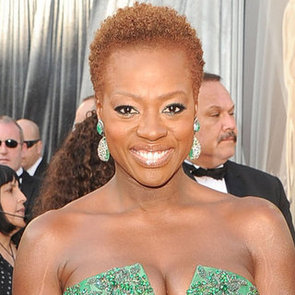 Viola Davis' Hair and Makeup at the 2012 Oscars