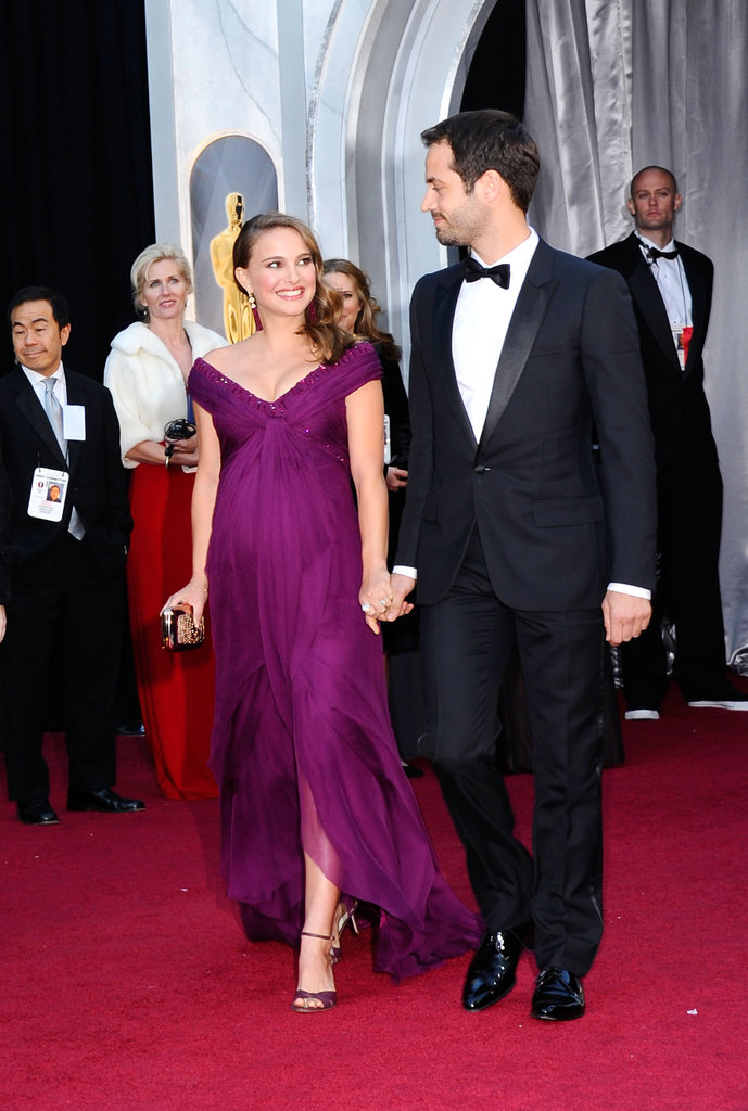 Natalie Portman and Benjamin Millepied shared a sweet look on the night of her big Oscars win in 2011.
