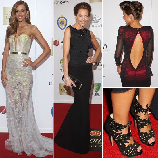 Red Carpet Pictures from the 2012 Allan Border Medal Awards: See All the WAGs Glamour on Show!