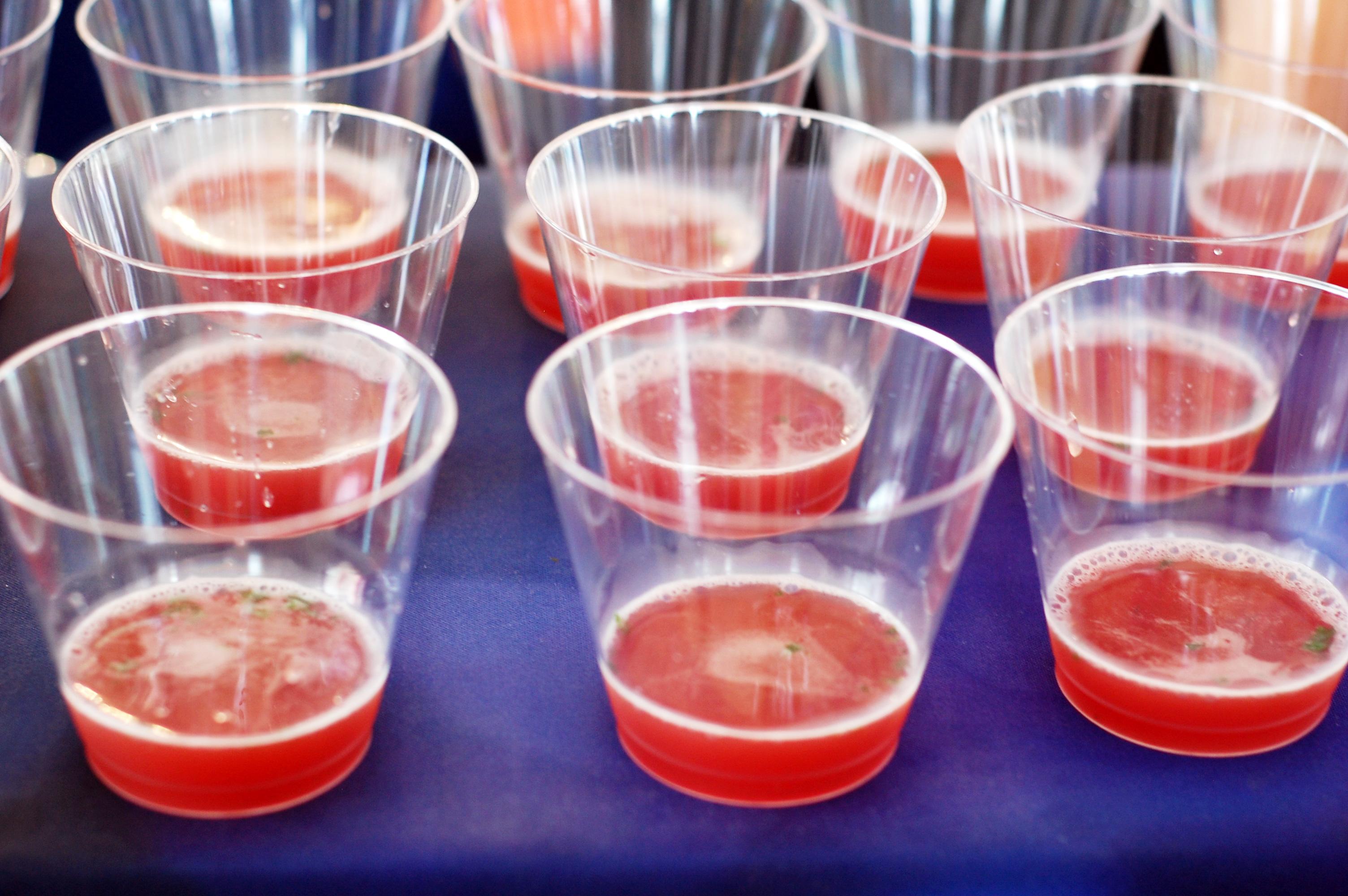 Pomegranate Prosecco Cocktail