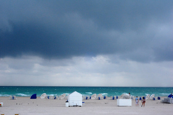 The Hurricane That Rolled Into the Tents