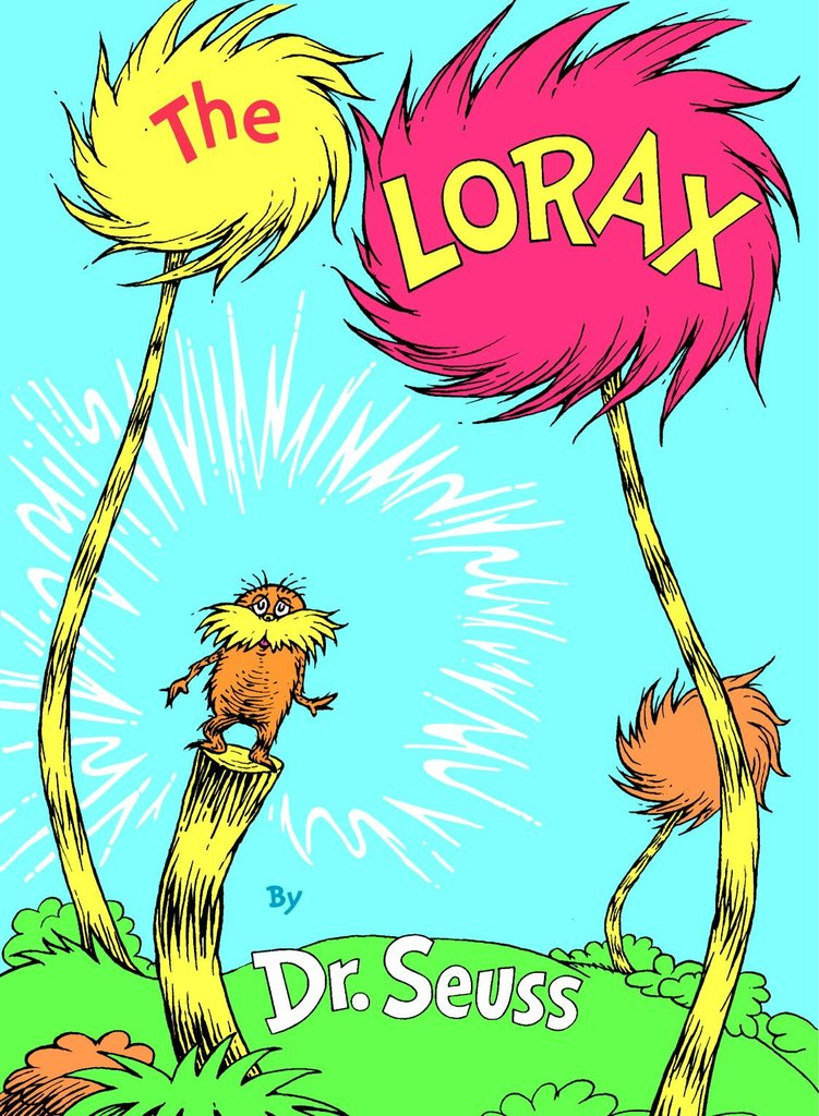 And our childhoods wouldn't be complete without the Truffula Tree-loving main character of The Lorax, now an animated film opening in theaters today.