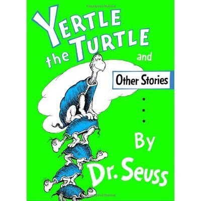 From the bottom of the pile, Mack the turtle had the courage to stand up to King Yertle and his mile-high throne in Yertle the Turtle.