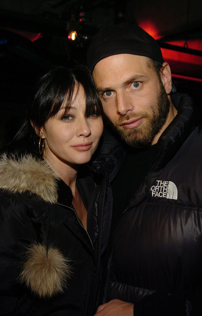 Shannen Doherty and Rick Salomon