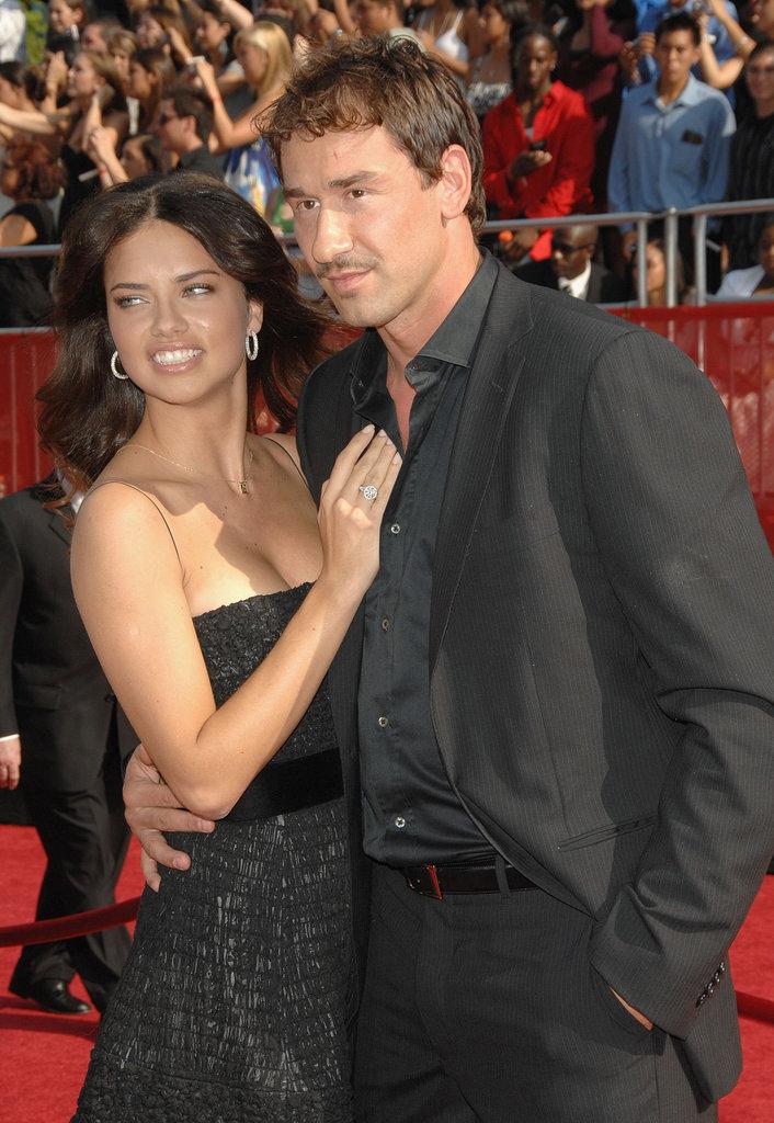 Adriana Lima and Marko Jarić