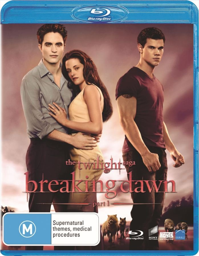 Breaking Dawn Part 1 on DVD and Blu-ray