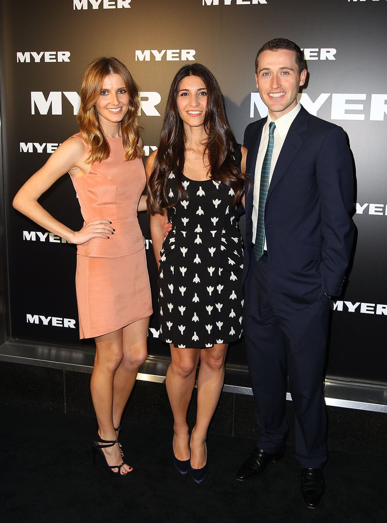 Kate, Hoda and Tom Waterhouse