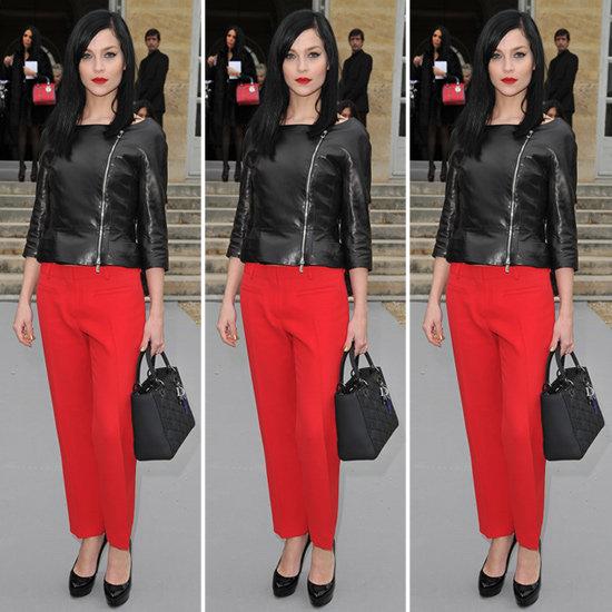Leigh Lezark Red Pants
