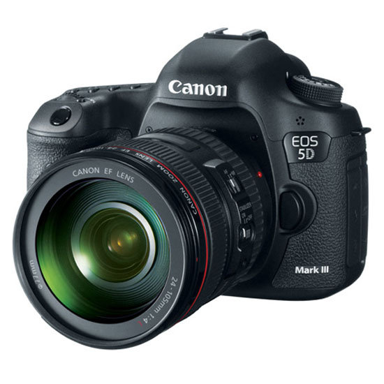 New Canon EOS 5D Mark III Digital SLR Camera Picture