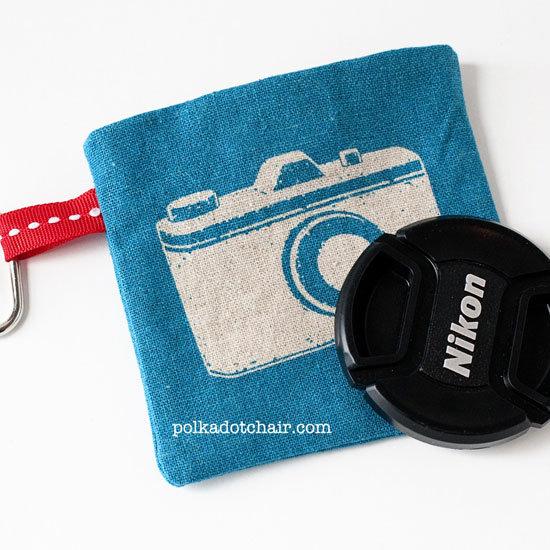 Camera Lens Pouch DIY